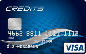 credits visa blue