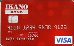 ikano visa red kredittkort