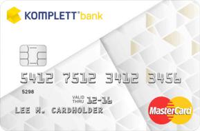 Komplett MasterCard kredittkort