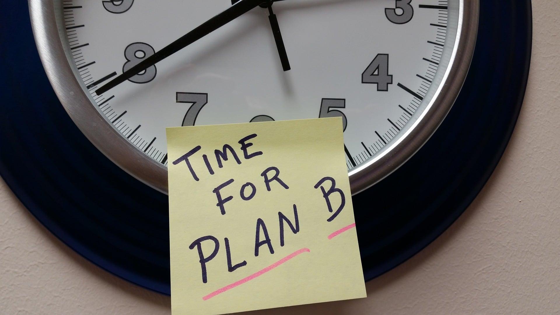 Tid for plan B